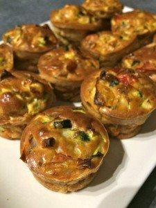 petits muffins aux légumes